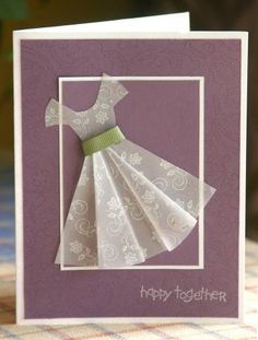 SU Vellum Dress Re-make by mayodino - Cards and Paper Crafts at Splitcoaststampers