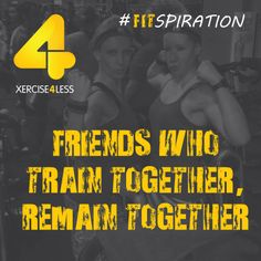Friends who train together.... #FitSpiration