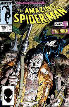 Spider-man #294 with Kraven the Hunter by Mike Zeck