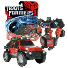 Hasbro Year 2007 Transformers Movie All Spark Power Series Scout Class Inch Tall Robot Action Figure - Autobot WARPATH with Missile and Cyber Key (Vehicle Mode: Off-Road SUV) - All Brands Transformers Transformers Action Figure Allspark Power Series Hot Rod Transformers, Transformers Autobots, Transformers Action Figures, Robot Action Figures, All Spark, Transformer 1, Power Series, Transformers Collection, Childhood Movies