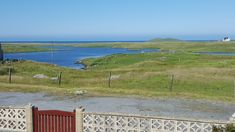 View from the front room of Coastal View Cottage across the Lochan to the Coast of South Uist. Self Catering Cottages, Outer Hebrides, Beach House, Golf Courses, Coastal, Mountains, Room, Travel, Beach Homes