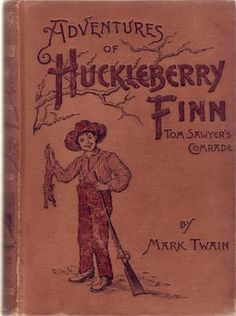 """Adventures of Huckleberry Finn"" from 1891"