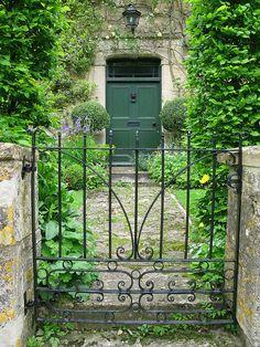 Green door by Island Queen Photos on Flickr