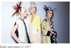 The upcoming warmer season sees a bit less of Ackermann ´s well known cinched-waist structured and rigid silhouettes, but more softer an. Women Wear, Runway, Silhouette, Seasons, How To Wear, Collection, Dresses, Fashion, Cat Walk