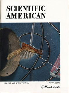 March 1956 Scientific American Cover, via Flickr. Modern Physics, Scientific American, March, Science, Vintage Stuff, Magazine Covers, Turning, 1950s, Archive