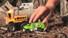 Toy Truck Video - Water Truck, GARBAGE TRUCK and More! #garbagetrucksrule