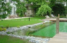 La piscine écologique // http://www.deco.fr/actualite-deco/167826-opte-piscine-naturelle-ecologique.html#
