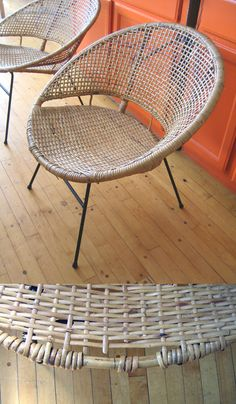 Round Wicker Chairs