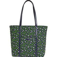 Vera Bradley Trimmed Vera Lucky Dots -- Details can be found by clicking on the image.
