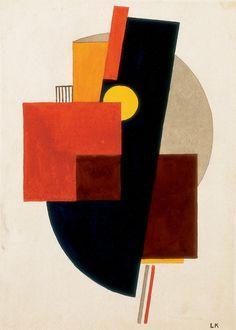 Képarchitektúra, 1922. Lajos Kassák (1887-1967) was a self-taught Hungarian poet, novelist, painter, essayist, editor, theoretician of the avant-garde. Although he cannot be fully identified with any single avant-garde movement, he adopted elements of expressionism, futurism and dadaism