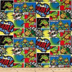 Uk seller - teenage #mutant #ninja turtle #fabric tmnt, View more on the LINK: http://www.zeppy.io/product/gb/2/262656184379/
