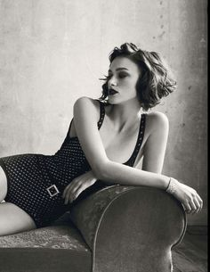 Kiera Knightley. love her. Want a picture of me like this someday
