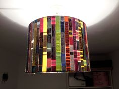 Festival wristband lampshade