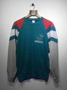 Adidas Sweatshirt size Large £36 Website➡️ www.retroreflex.uk #adidas #vintage #oldschool #retro #truevintage