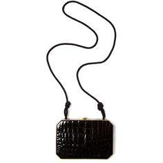 Fendi Shoulder Bag (9 395 UAH) ❤ liked on Polyvore featuring bags, handbags, shoulder bags, purses, bolsas, accessories, borse, vintage alligator purse, shoulder handbags and handbag purse