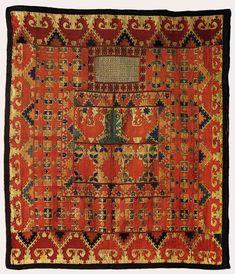 Ruiband Veil, 19th C.Tajikistan - Museum of Oriental Art, Moscow