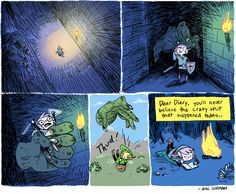 Let's go on an adventure. - Zac Gorman #Zelda comic