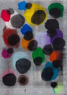 vjeranski: Linus Bill and Adrien Horni P. 257 2012 Acrylic and Silkscreen on Canvas 240 x 170 cm Art Inspiration, Art Journal, Art, Artwork Painting, Painting, Collage Art, Abstract Painting, Art Design, Contemporary Abstract Art