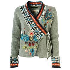 Brilliant reworked sweater