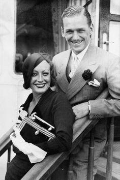 meinthefifties:  Douglas Fairbanks, Jr. and Joan Crawford, 1932