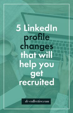 Before I found myself in a management role, I assumed that job recruiters had stacks piled high with resumes on their desks at all times. That may be true for some…. But the reality is, they're struggling to find good candidates just as much as you're struggling to find a job. Your LinkedIn profile is the easiest way to make yourself visible to recruiters, and if you're not managing it, you're missing out on job opportunities. Check out this pin now, or save it for later!