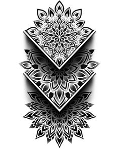Geometric Tattoo Stencil, Geometric Tattoo Design, Mandala Tattoo Design, Tattoo Stencils, Tattoo Designs, Life Tattoos, All Tattoos, Tribal Tattoos, Tattoo Ink
