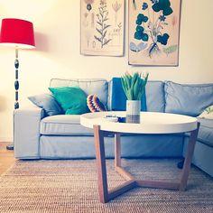 Retro, sofa, table, living room