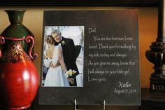Father of the Bride Wedding Gift Parents of by DayStarExpressions, $49.99