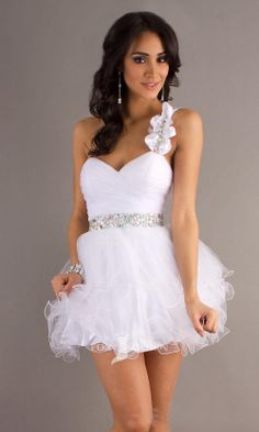 cefe4cafc9e Královská modrá květina korálky jeden popruh zlatíčko Krátká Řada  prohrábnout sukně šaty na ples Quinceanera Dresses