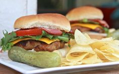Easy Grilled Turkey Burgers
