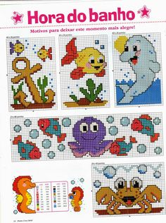 Thrilling Designing Your Own Cross Stitch Embroidery Patterns Ideas. Exhilarating Designing Your Own Cross Stitch Embroidery Patterns Ideas. Cross Stitch Sea, Cross Stitch For Kids, Cross Stitch Designs, Cross Stitch Patterns, Cross Stitching, Cross Stitch Embroidery, Christmas Embroidery Patterns, Plastic Canvas Patterns, Baby Knitting Patterns