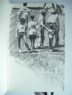 Moleskine #128 graphite pencil drawing