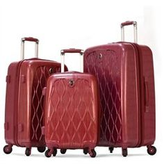 #Olympia                  #BagsLuggage              #Olympia #Hancock #Piece #Hardcase #Outdoor #Travel #Carry-On #Rolling #Luggage #Suitcase #Wine         Olympia Hancock 3 Piece Hardcase Outdoor Travel Carry-On Rolling Luggage Suitcase Set In Wine                                     http://www.seapai.com/product.aspx?PID=7698364
