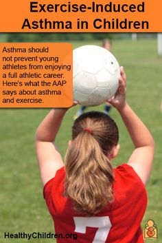 Exercise-Induced Asthma in Children - Asthma should not prevent young #athletes from enjoying a full athletic career. The following is information from the American Academy of Pediatrics has tips about #asthma and #exercise on www.HealthyChildren.org. #sports #breathing #inhaler