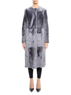 DROME Fur Coat. #drome #cloth #coats-jackets