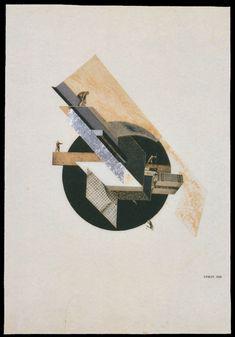 Gustav Klutsis, Dynamic City, 1919