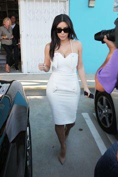 Kim Kardashian shops Home Goods
