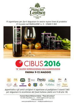 Invito CIBUS Parma 2016