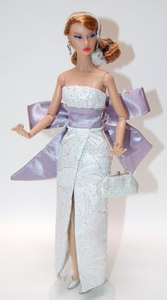 NEW FR Integrity Poppy Parker MAGNIFIQUE Gown w/ Purple Bow Dress in 3 Styles in Dolls & Bears, Dolls, By Brand, Company, Character, Integrity, Fashion Royalty | eBay