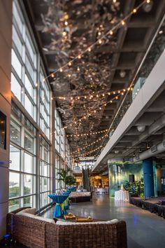 Charleston #wedding #lighting by AV Connections at South Carolina Aquarium. Photo Credit: Richard Bell Photography