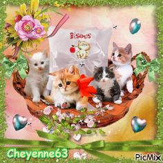 Cute Kittens, Gif Mignon, Unicorn Wallpaper Cute, Good Morning Happy Saturday, Animated Heart, Good Night Messages, Funny Emoji, Happy Friendship Day, Little Kitty