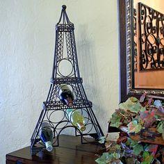 Paris Eiffel Tower Metal Wine Rack $39.95