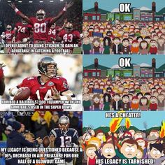 """because """"Deflategate"""" alone could provide hundreds of thousands of football memes, so flip through some of our favorite NFL memes, including the obligatory Patriots shots. Funny Football Memes, Funny Nfl, Baseball Memes, Funny Sports Memes, Nfl Memes, Football Quotes, Sports Humor, Football Shirts, Football Humor"""