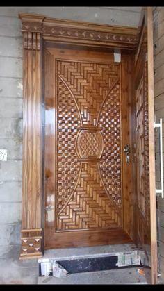 House Main Door Design, Single Door Design, Home Door Design, Front Gate Design, Wooden Main Door Design, Pooja Room Door Design, Door Gate Design, Door Design Interior, Modern Exterior Doors