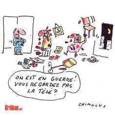 Les Français face à la «guerre» - Dessin du jour - Urtikan.net