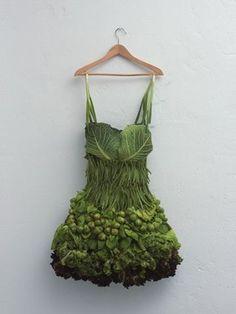 Green Veggie Dress