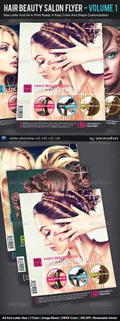 Beauty And Hair Salon Bc Template Business Card Templates Hair And Medium
