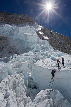 The Khumbu Icefall, Everest