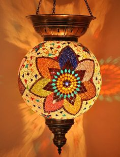 GLASS MOSAIC LAMPS by anatolanmosacbazaar on Etsy, $115.00