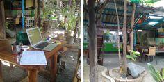 [DECOllectif] Les bonnes idées pour vivre dehors / préau en Thaïlande pour protéger du soleil, de la pluie, des fruits qui tombent des arbres